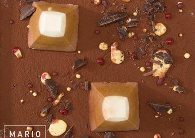 Piramidi al cioccolato